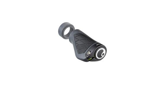 Ergon GS1 handvatten Dual Twist-Shift grijs/zwart